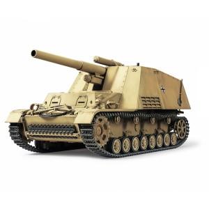 Kit de construit vehicul militar Hummel si 3 figurine 1:35