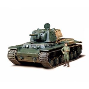Kit de construit tanc KV-1B si 1 figurina 1:35