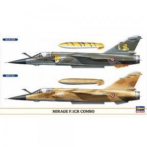 Kit de construit avion Mirage F.1CR Combo (2 buc) 1/72