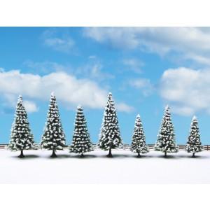 Set 7 brazi de iarna, 8-12 cm