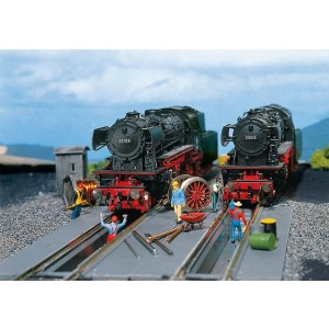 Groapa de inspectie pentru locomotive , 2buc