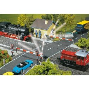 Trecere la nivel cu calea ferata automatizata