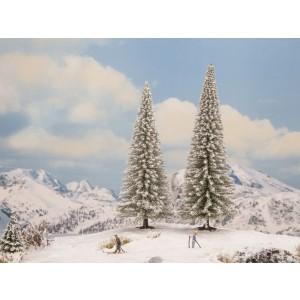 Set 2 brazi de iarna, 16-18 cm