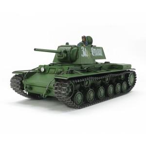 Kit de construit tanc KV- 1 cu 1 figurina 1:35