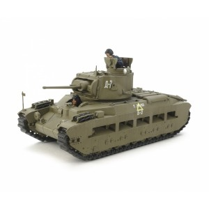 "Kit de construit tanc Matilda MkIII/IV ""Armata Rosie"" si 2 figurine 1:35"