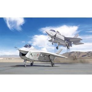Kit de construit avion JSF Program X-32A and X-35B, 1:72