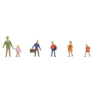 Set figurine H0 Profesori si copii