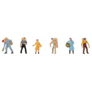 Set figurine H0 Recoltarea strugurilor