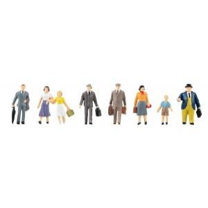 Set figurine H0 Calatori