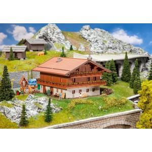Casa cu 2 etaje in stil alpin