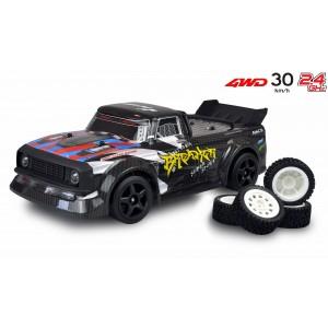 Masina cu telecomanda RC Drift Sport Carbreaker,30 Km/h,Tractiune 4X4, scara 1:16, L:300 mm, Directie si Acceleratie proportionale,Stabilizator Gyroscopic,Negru
