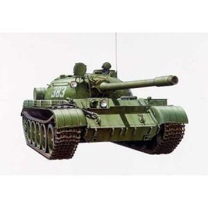 Kit de construit tanc T-55A cu 1 figurina 1:35
