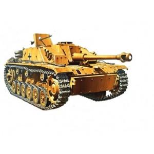 Kit de construit tanc SdKfz.142/1 Sturmgesch.IIIG si 2 figurine 1:35