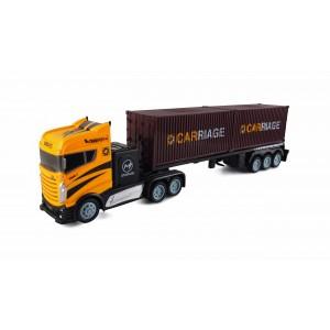Camion RC cu telecomanda 2 containere 2WD 1:16 2.4GHZ RTR