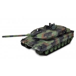 Tanc RC cu telecomanda Leopard 2A6 1:16 cu functie de tragere ,sunet, fum si infrarosu