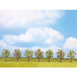 Set 7 pomi infloriti 8 cm