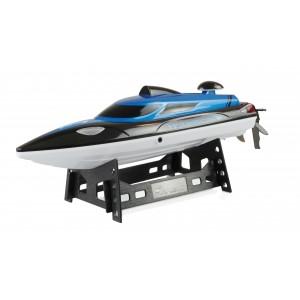 Barca RC cu telecomanda Blue Barracuda V2 2,4 GHz / 355 mm / 25 km/h RTR