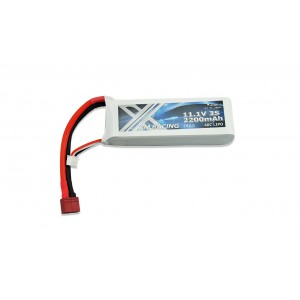 Acumulator LiPo Akku 3S 11,1V 2200mAh 40C Softcase