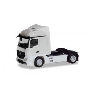 Macheta camion Mercedes-Benz Actros Streamspace 2.3 '18 alb