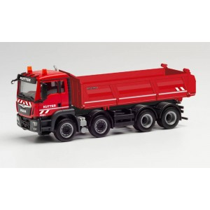 "Macheta camion MAN TGS M basculanta 8x4 ""Kutter"""