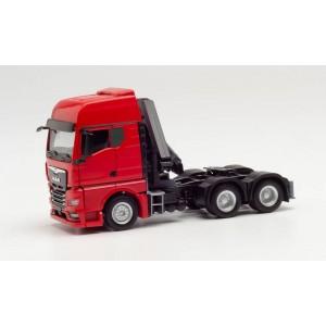 Macheta camion MAN TGX GX cu macara