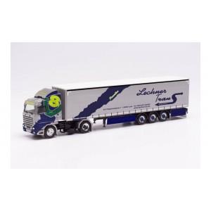 """Macheta camion Scania 143 420 V8 Streamline cu semiremorca """"LECHNER TRANS"""""""
