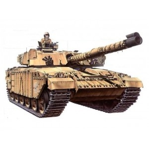 Kit de construit tanc MBT Challenger 1 Mk.III si 2 figurine 1:35