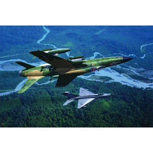 Kit de construit avion F105D Thunderchief 1/48