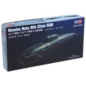 Kit de construit submarin nuclear RFS Alfa Class SSN 1/350