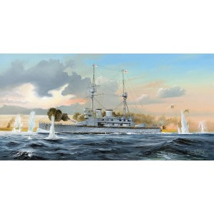 Kit de construit nava de razboi HMS Lord Nelson 1/350