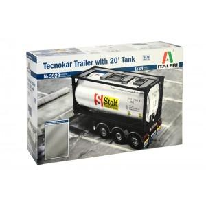 Kit de construit semiremorca Tecnokar cu container 20 '