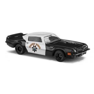 Macheta auto Pontiac TransAm, Highway Patrol