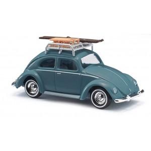 Macheta auto VW Käfer echipat de iarna