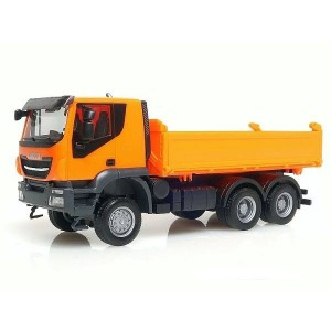 Macheta camion Iveco Trakker 6x6 basculanta