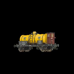 "Vagon cisterna cu cabina de franare, de tip Z [P] ""BP"", DRG, Epoca II"