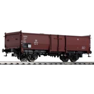 Vagon de marfa tip gondola cu incarcatura, DB, Epoca III