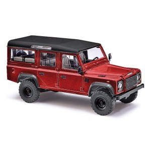 Macheta auto Land Rover, Rosu metalizat