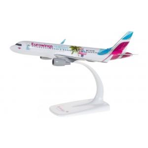 "Kit de construit avion Airbus A320 Eurowings ""EUROWINGS HOLIDAYS"" 1:200"