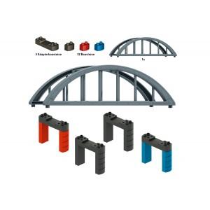 Set blocuri de construcție a podului feroviar - Marklin my world