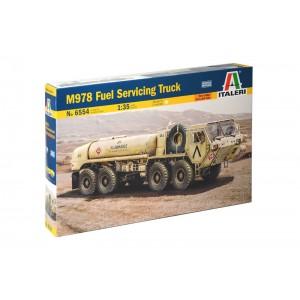 Kit de construit camion militar HEMTT M978 cisterna, 1:35