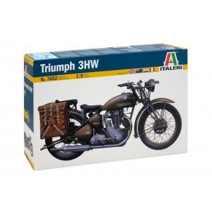 Kit de construit motocicleta TRIUMPH 3HW, 1:9