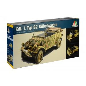 Kit de construit auto militar Kdf. 1 Typ 82 Kübelwagen 1:9