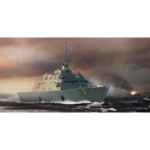 Kit de construit nava de razboi USS Fort Worth LCS-3 1/350
