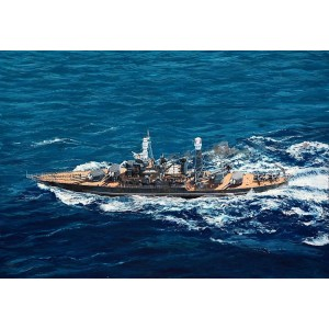 Kit de construit nava de razboi USS West Virginia BB-48 1941 1/700