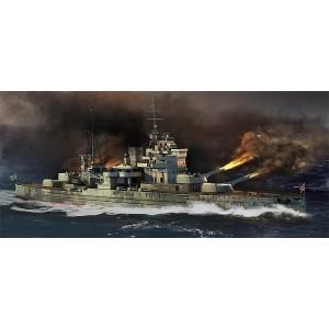 Kit de construit nava de razboi HMS Queen Elizabeth 1941 1/700