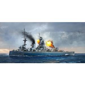 Kit de construit nava de razboi HMS Nelson 1944 1/700