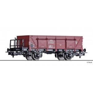 Vagon de marfa tip gondola Elmo CFR,Epoca IV