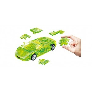 Kit de construit Lamborghini Murciélago, transparent 1:32 Puzzle Fun 3D