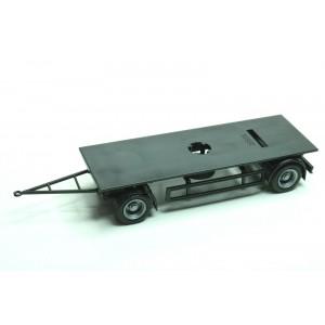 Kit 2x remorca platforma LKW (7,15m)