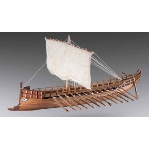 Kit corabie din lemn, Greek Bireme 1:72